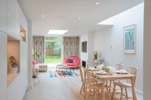 Sorbus Walk Dining & Living Room