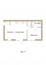 Akeman House Apartment 1 Floor Plan