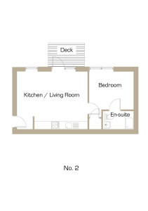 Akeman House Apartment 2 Floor Plan