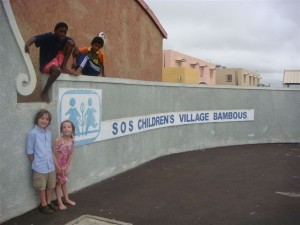 Dudley familiy visit to SOS Childrens Village Bambous 2007