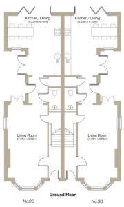 Natal Road Ground Floor Plan