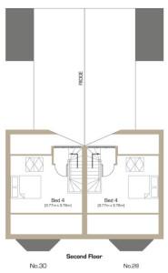 Natal Road Second Floor Plan