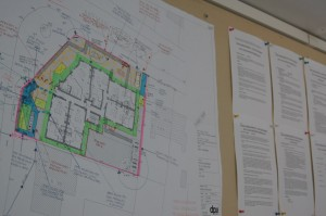 Plans On Wall