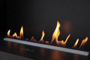 Bioethanol Fire Flames Sorbus Walk